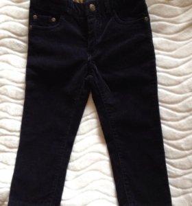 Новые вельветовые джинсы