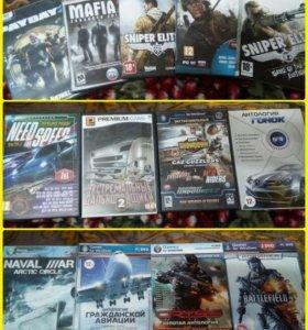 Продам игровые диски на ПК