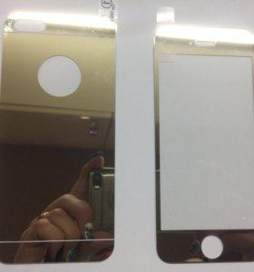 Защитное стекло переднее+заднее 5айфон