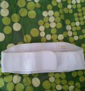 Бандаж дородовый послеродовый+ накладки для кормле