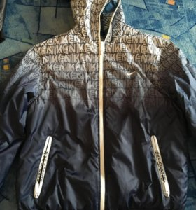 Куртка подростковая, двухсторонняя