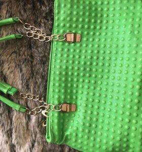 Новая сумка, босоножки в цвет в подарок