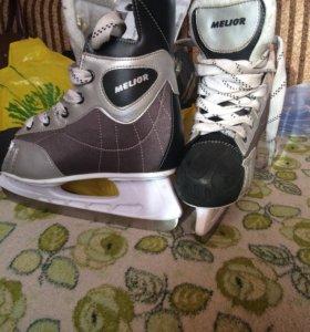 """Хоккейные коньки """"Melior """" размер 37"""