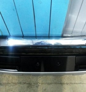 Накладка на передний бампер RAV4 2008 - 2010г.