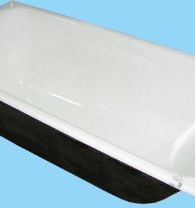 Рестоврируем чугунные и стальные ванны