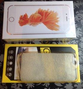 Айфон 6s розовый