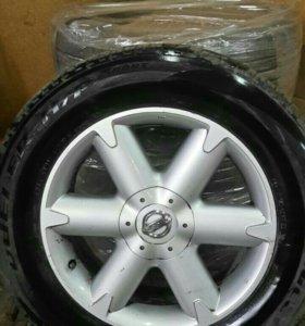 Колеса с литьем Nissan r18