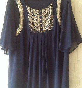 Длинная блуза- туника