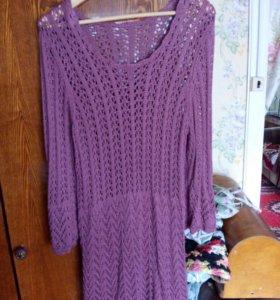 Вязаная туника или платье