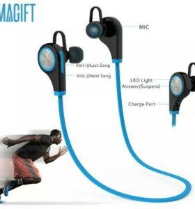 Беспроводные Bluetooth наушники с микрафоном
