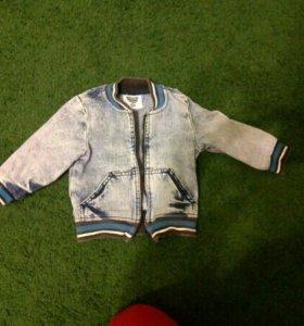 Джинсовка на мальчика джинсовая курточка