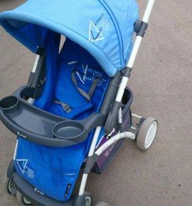 Новая коляска прогулка с перекидной ручкой