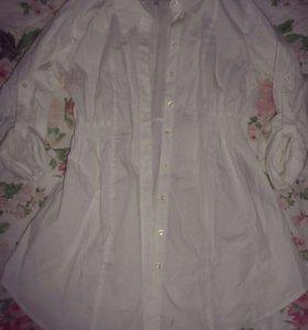 Белая блуза C&H