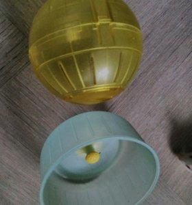 Колесо и шар для хомяка