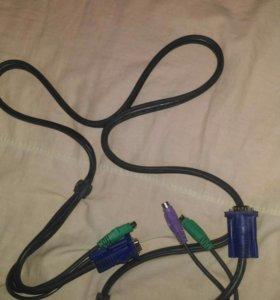 Соединительный кабель VGA