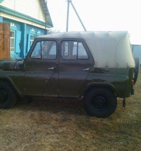 Автомобиль УАЗ 469 1989гв
