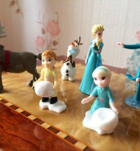 Киндер сюрприз игрушки из холодного сердца