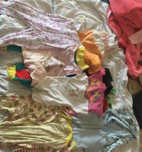 Вещички на малыша 6-12 месяцев