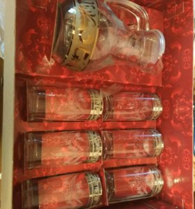 Подарочный набор графин и стаканы