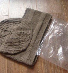 Набор женский, Берет и шарф