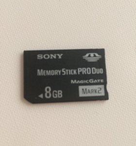 Memory stick pro duo 8 gb