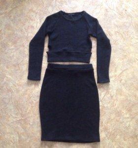 Костюм (юбка + кофта)