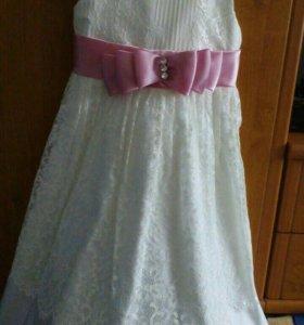 Детское платье на 6-8 лет