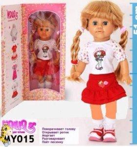 Кукла интерактив(говорит движ ртом головой песня)