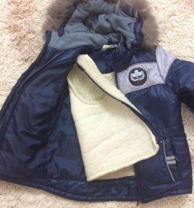 Куртка зимне-весенняя