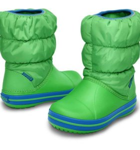 Сапоги детские Crocs Winter Puff Boot Kids