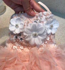 12м-5лет новое , платье