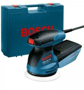 Машинка шлифовальная эксцентриковая Bosch GEX 125-
