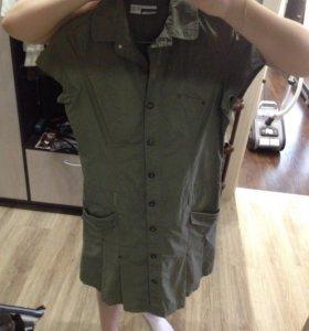 Рубашка-платье.
