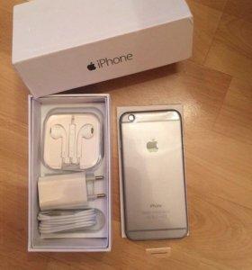 iPhone 6 на 16 г цвет серый , новый вообще .