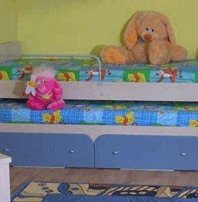 """Двухъярусная кровать с матрасами """"Пифагор"""""""