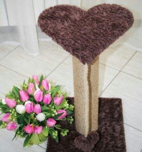 Когтеточка сердце 60 см