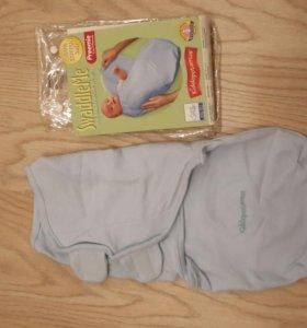 Новая пеленка на липучках для новорожденного