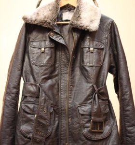 Кожаная куртка Orsay
