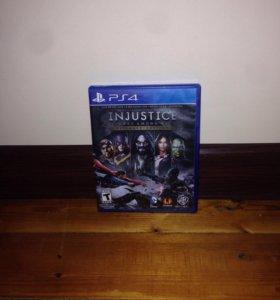 Игра INJUSTICE на PS4