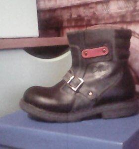 Детские ботинки весна-осень, размеры: 24,26 ,27