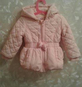 Куртка для девочки на 1год