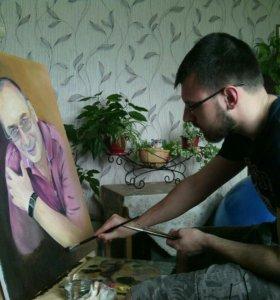 Картины. Портреты. Художник.