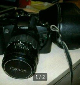 Пленочная зеркалка Canon EOS 500N + Sigma f28-80