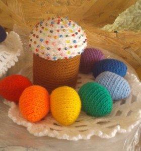 Вязаные торты.