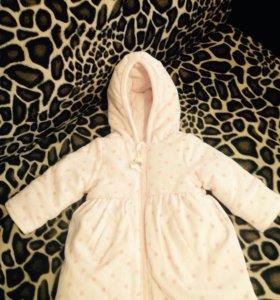 Пальто детское весна-осень