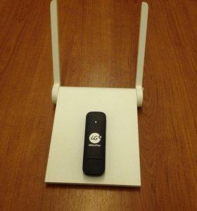 "Интернет комплект ""Wi-Fi роутер +4G/3G модем"""