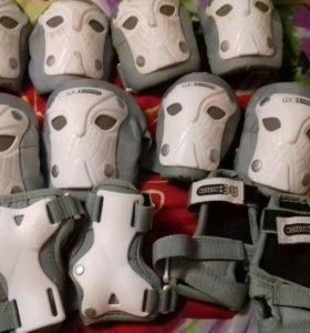 2 комплекта защиты для катания на роликах