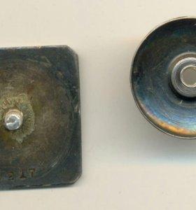 Знак Днепрострой 1932 серебро