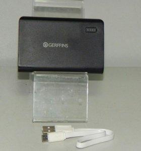 внешний аккумулятор Gerffins G600, 6000 mAh Т1017