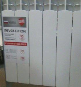 Алюминиевые радиаторы Революшн